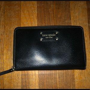 Kate Spade Black Wallet